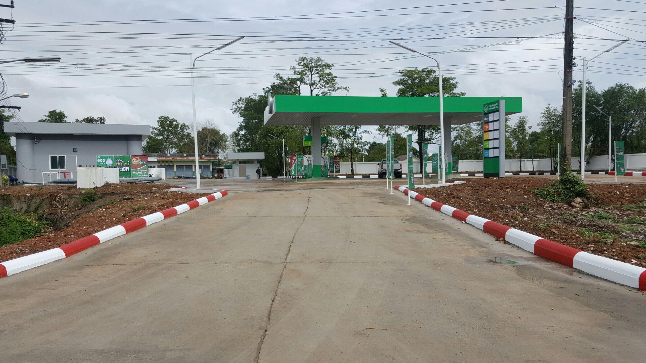 รับสร้างปั๊มน้ำมันครบวงจร ทุกแบรนด์ ผลงานทั่วไทยกว่า 100 ปั๊ม